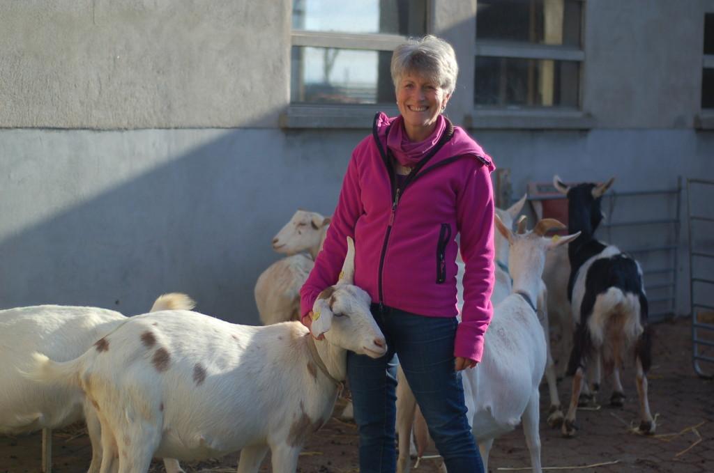 Anita und ihre Ziegen